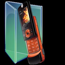 Motorola Z6 folder